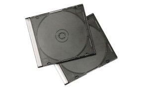 BLACK SLIM CASE CD PACK/10